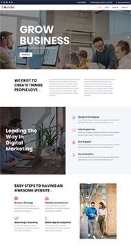 营销产品型企业网站
