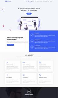 数字营销型企业网站